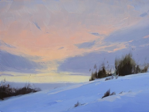 Peaceful Winter - Stacey Peterson