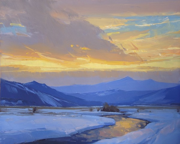 February Sundown - Stacey Peterson